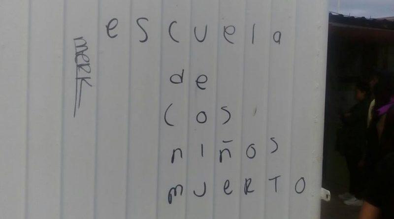 Niños de escuela primaria amenazados de muerte en Xalapa